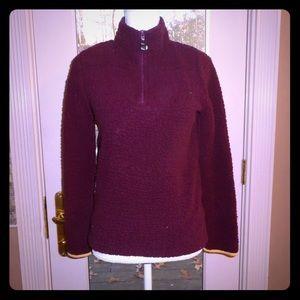 Aeropostale sz s maroon fox prince hoodie sweater
